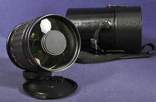 Exakta MC 1:8 x 500mm Spiegeltele - T2 / M42 Mirror Lens 500 mm