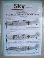 Sky Models Decal Sky 48-027 Messerschmitt BF 109