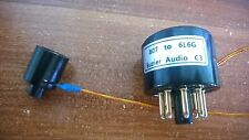 2 × 807 replace EL34 KT88 6L6 6L6G Vacuum Tube Amplifier Convert Socket Adapter
