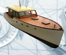 "Model boat Plan R/C Dumas 40' Vinyard Sea Cruiser 25"" + 1:12 & 1:16 Scale on Cd"