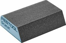 6 Pack Festool 69x98x26 120 CO GR/6 Hand Abrasive GRANAT Sponge 4-Sided - 201084