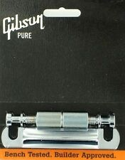 GIBSON PTTP-015 STOP BAR nickel TAIL PIECE w/stud insert LES PAUL PONTE NW