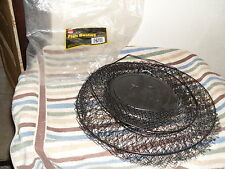 "NEW FABILL FLOATING FISH BASKET # 3090........14"" x 24"" BLACK MESH STEEL WIRE"