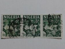 3 x Nigeria Stamps All - 3d