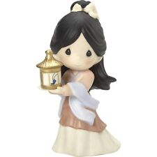 $ New PRECIOUS MOMENTS DISNEY Porcelain Figurine MULAN GIRL CRICKET Statue