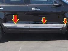 Fits Ford Explorer 2016 Stainless Steel Chrome Rocker Panel Trim Moldings
