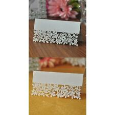 100Pcs Trees Laser Cut-out Table Name Place Cards Wedding Party Decor Favor