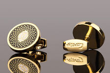 Cartier cufflinks in Gold Mens jewelry Designer accessories
