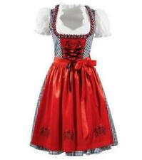 NEW Exclusive German Bavarian  3 pc. Dirndl Blouse Apron  XS