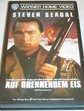 Warner - Auf brennendem Eis - VHS/Steven Seagal/Michael Caine/FSK 18