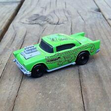 4 Vintage Original McDonalds HOT WHEELS Green Alligator Tattoo Car Toy 1993 NOS