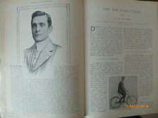 Old Antique Cycling Bicycle Hockey Photo Articles 1904 Bath Shooting Rifle Club