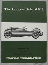 Profile Publications magazine Issue 66 featuring Cooper-Bristol F.2