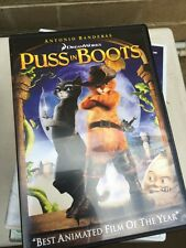 Puss In The Boots Dvd