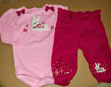 Infants baby girl Gymboree Bunnies Snow Cute outfit size 6-12 months