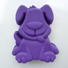 3D Dog Cake Pan Lovely Cartoon Animal Silicone Baking Mold Bakeware Mould