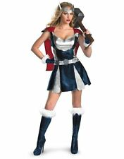 Femme sexy thor avengers guerrier marvel fancy dress costume outfit
