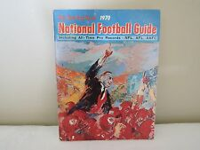 1970 The Sporting News National Football Guide Excellent!