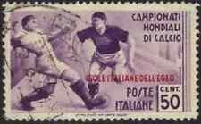 (u) Italia Colonie Egeo 1934: MONDIALI CALCIO c.50 [77; Canc]