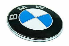 82mm BADGE BMW .. Emblem Boot Bonnet  Roundel E24 E36 E46 E90 E30 E39 E60 E61