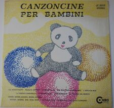 "Disney Record ""Canzoncine Per Bambini"" - LP-20118 - Still Sealed (SS)"