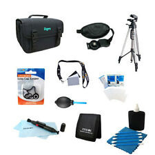 Digital SLR Camera Accessory Bundle 10pc Kit for Canon Nikon Sony & all others