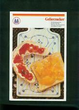 Altes Faltblatt Kölner Zucker Gelierzucker Rezepte Pfeifer & Langen Fotos 1970er