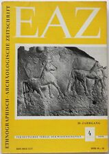 EAE rare Ethnography/Archaeology journal 1985