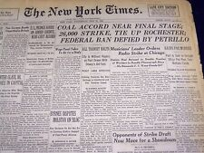 1946 MAY 29 NEW YORK TIMES - COAL ACCORD NEAR FINAL STAGE - NT 860