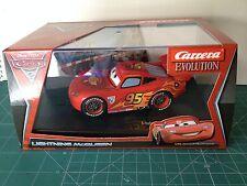 CARRERA EVOLUTION 1:32 LIGHTNING McQUEEN DISNEY PIXSAR CARS  VER FOTO