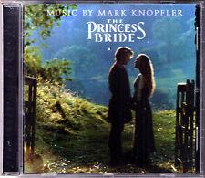 THE PRINCESS BRIDE Mark Knopfler OST CD Willy DeVille Die Braut des Prinzen HDCD
