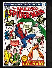 Amazing Spider-Man #127 ~ Dark Wings of Death ~ 1973 (9.0) WH
