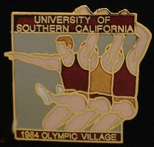 Athletics Olympic Venue Pin~Track & Field~1984~USC~University of Southern Calif