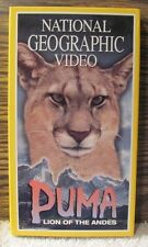 National Geographic Video, PUMA, LION OF THE ANDES - VHS