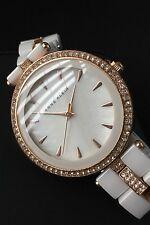 Ladies Anne Klein Designer Watch AK/N1444 Ceramic MOP Dial Serviced