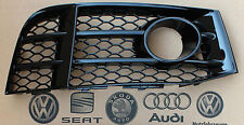 Audi RS5 right side ACC grid  grill lower bumper grille gloss in black finish