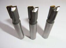 3 Tauchfräser Ø 10 mm Schaft 10 mm HM Nutenfräser Bohrfräser Fräser *V4.2C*