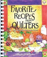 Favorite Recipes from Quilters-ExLibrary