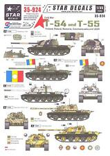 Star Decals 1/35 RUSSIAN T-54 and T-55 TANKS IN COLD WAR SERVICE