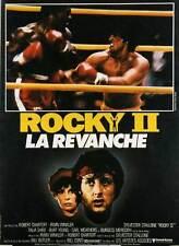 Affiche 120x160cm ROCKY 2 /LA REVANCHE 1979 Sylvester Stallone - Talia Shire