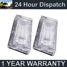 2x Para Bmw Serie 3 E46 Saloon Estate 1998-2005 18 Led Blanco de la placa de lámparas