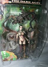 1999 McFarlane NECROMANCER Witch Spawn Dark Ages Series 14 Action Figure MIP