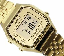 CASIO Digital Gold Retro Vintage LA680WGA-9 LA-680WGA-9