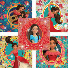 10  Disney Glitter Elena Avalor Princess Stickers Party Favors Teacher Supply