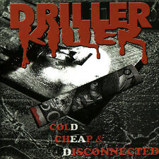 Driller Killer - Cold Cheap & Disconnected - Sealed CD (Swedish Metal, Marduk)