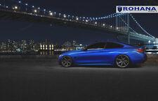 20x9 +32 20x10 +37 Rohana RC7 5x120 Matte Graphite Wheel Fit Bmw F32 435i 2015