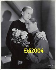 GRETA GARBO Older Restrike RARE Photo SEXY 1930s Smoking Mysterious  Couple