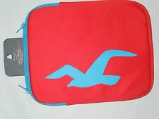 Hollister red 10 inch neoprene tablet case