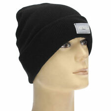 Unisex LED Light Cap Hat Winter Knitted Beanie Hunting Camping Fishing Running