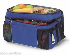 Gemline Campsite Large Capacity Insulated 36 Cooler Bag Royal - New